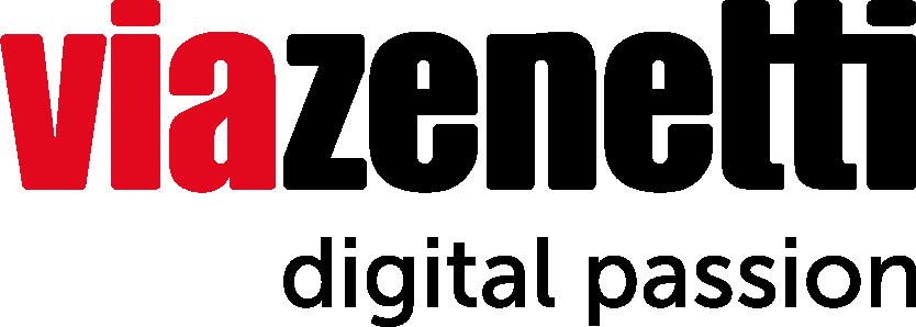 Logo für viazenetti UX  Agentur in München
